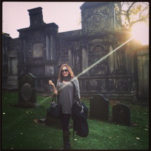 edinburgh, scotland cemetery, boudoir photographer, scotland, traveling boudoir photographer, stacie frazier