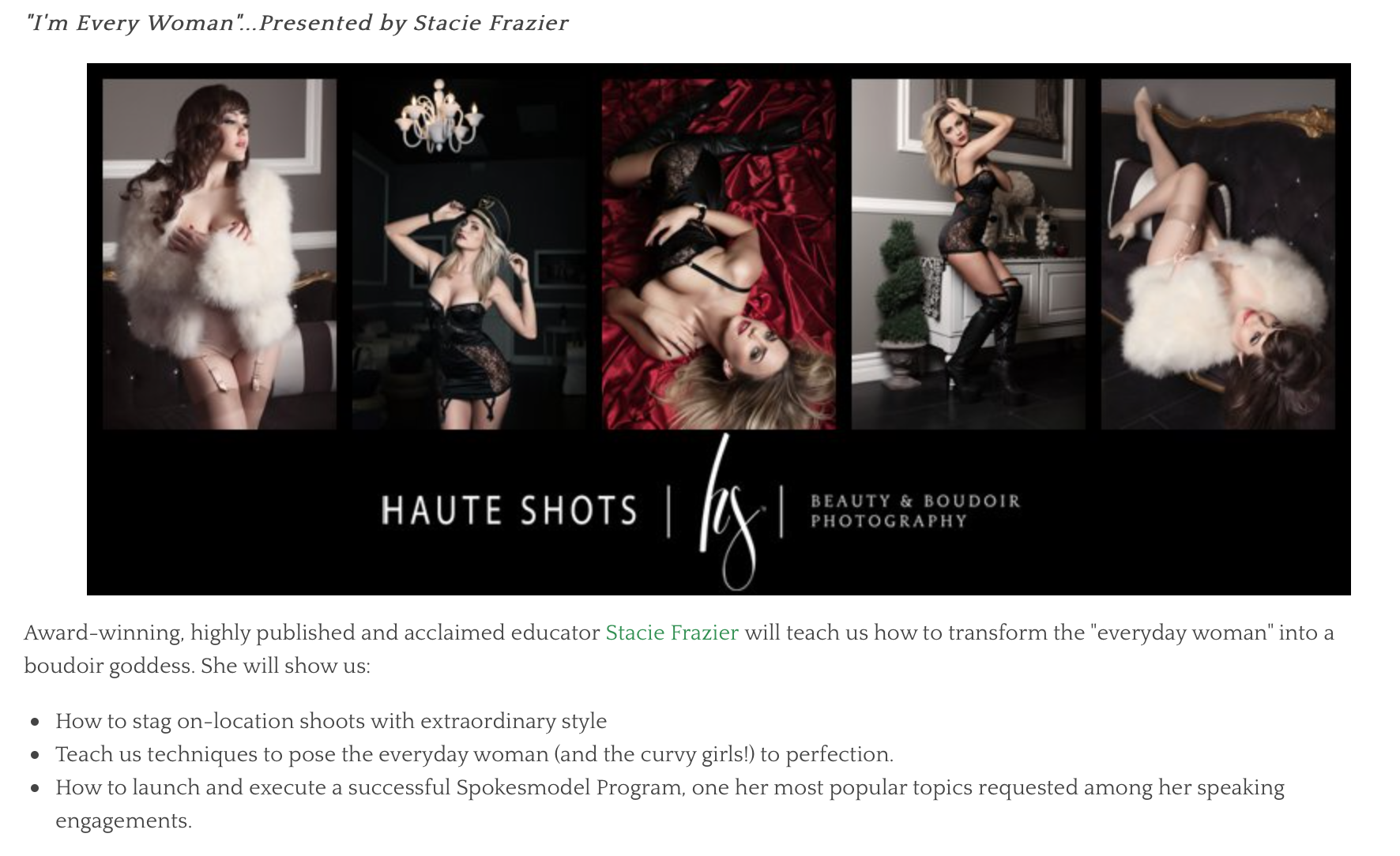 boudoir photography, boudoir teacher, boudoir photography educator