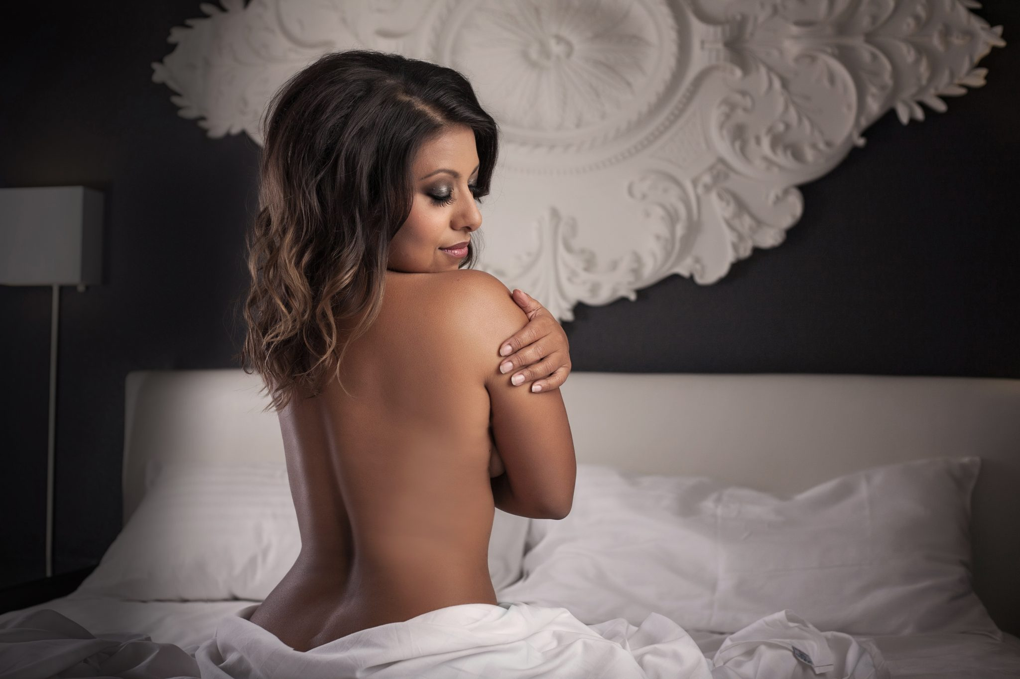A boudoir photography session can be a great expression of self love.