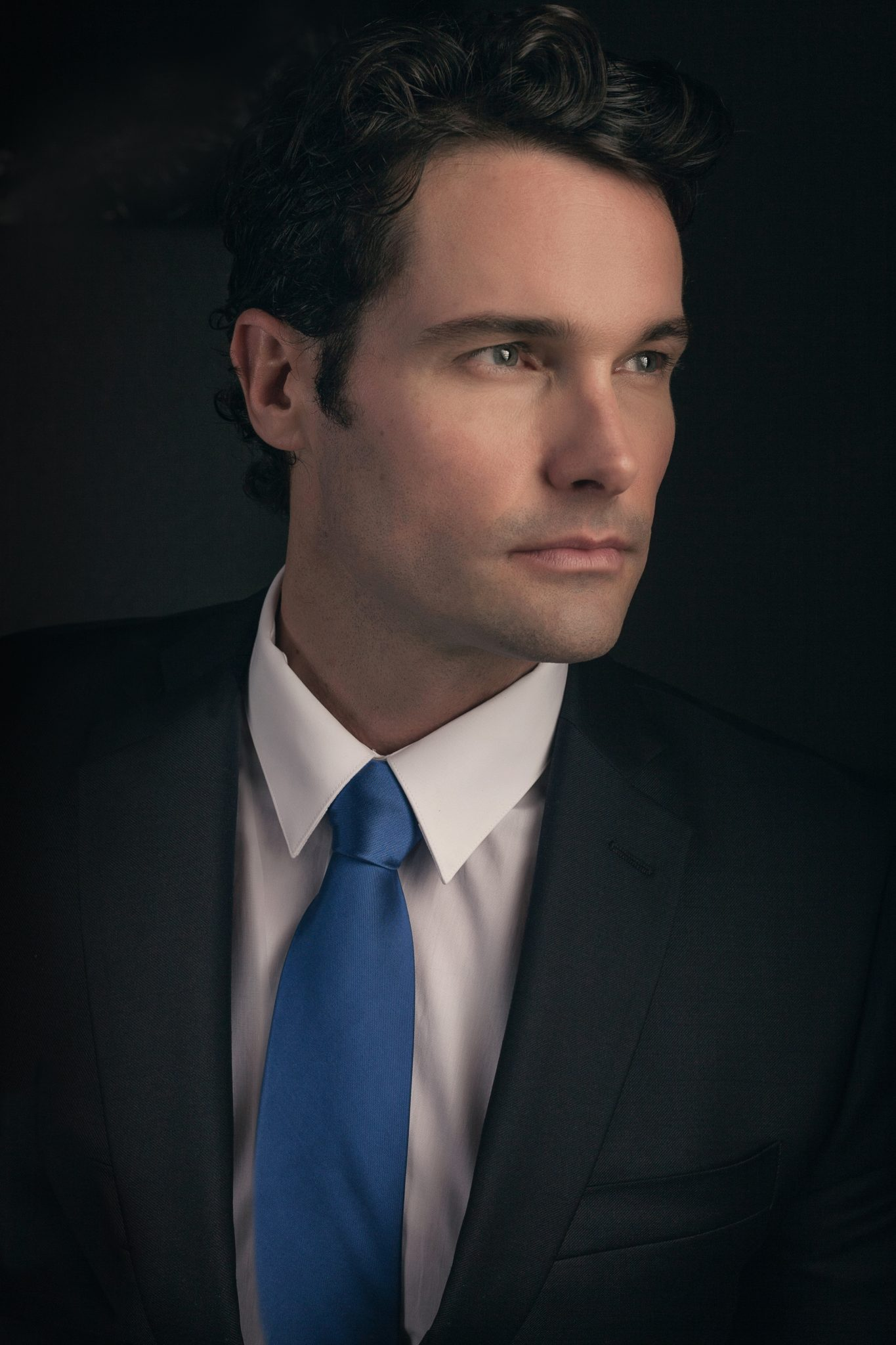 Corporate headshot portrait in Las Vegas.