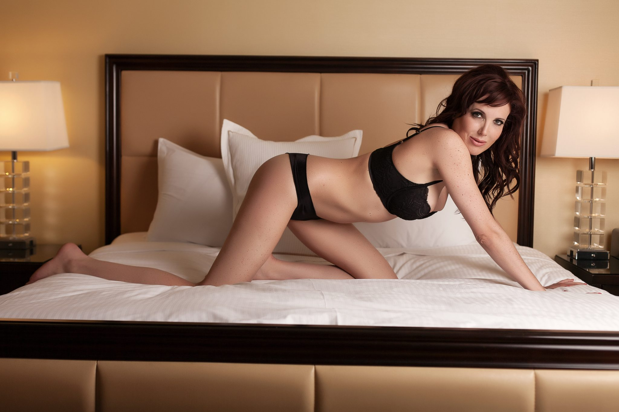 a boudoir shoot in Vegas.