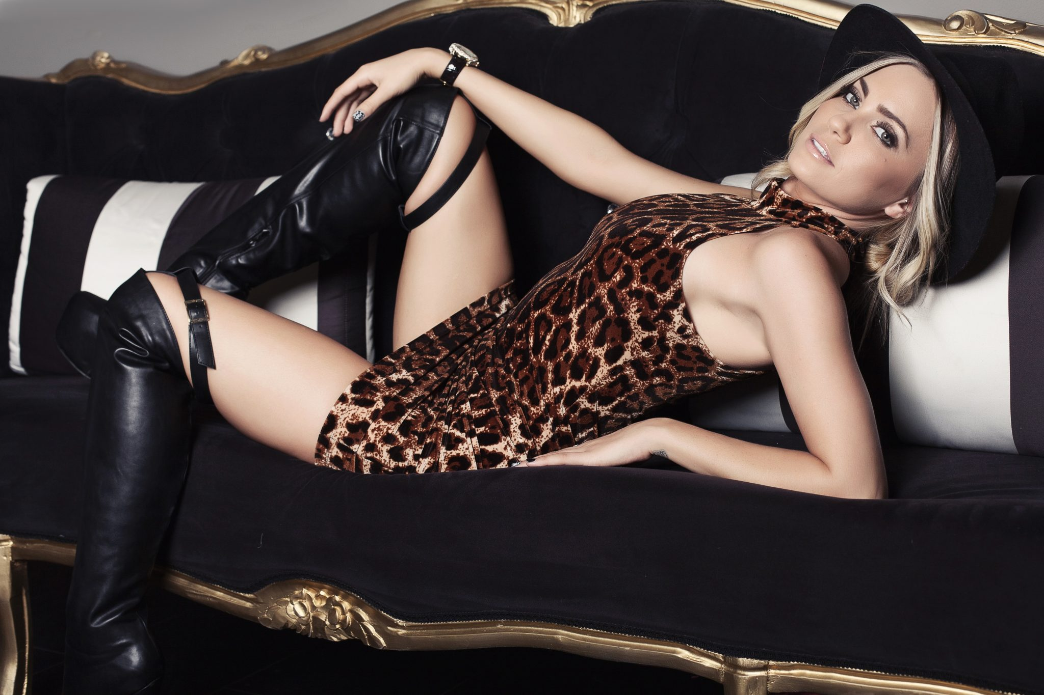haute shots, leopard, angel