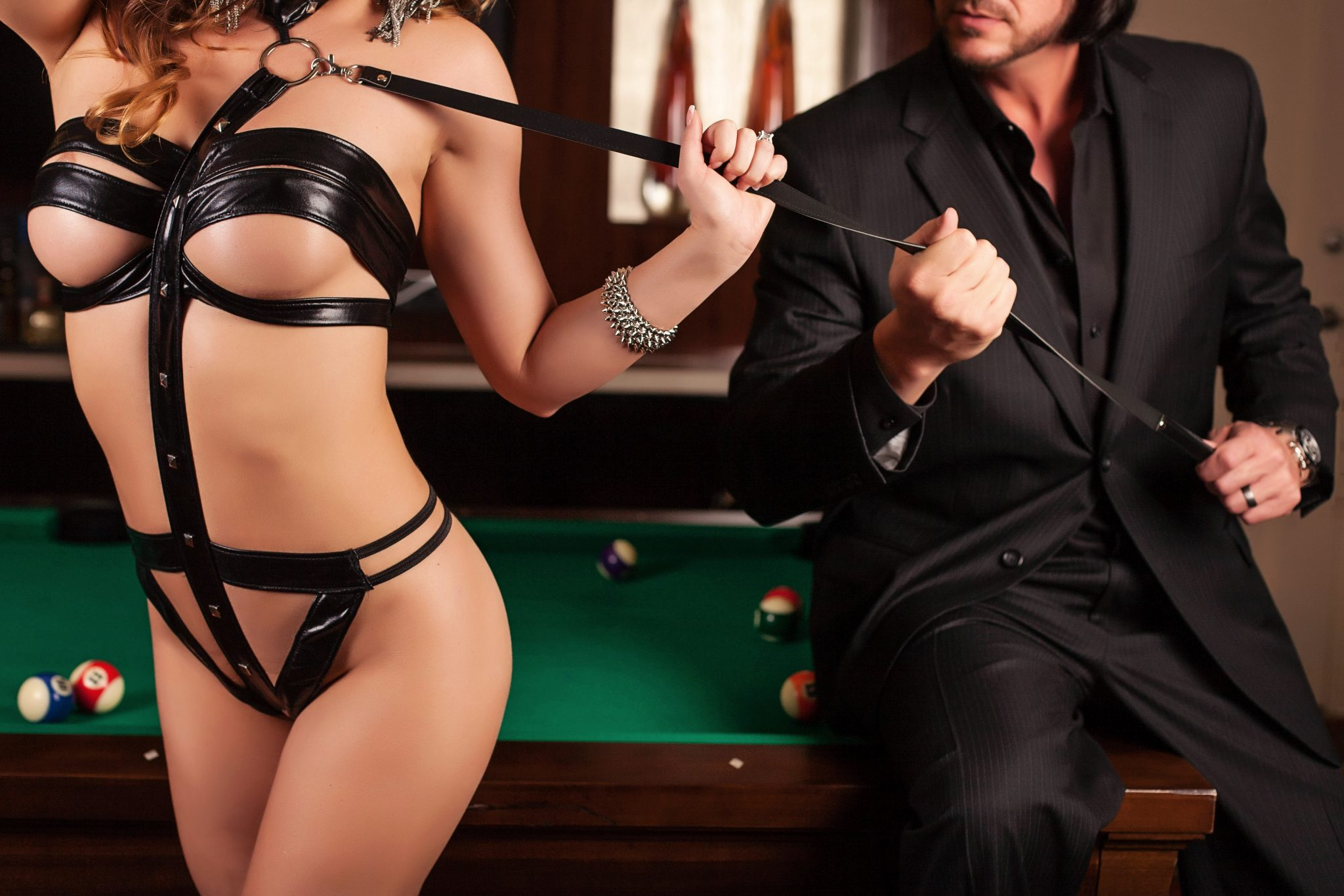 Explore your wild side with your looks at a couples boudoir session.