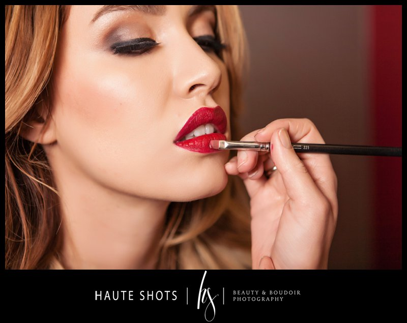 red lips. haute shots.